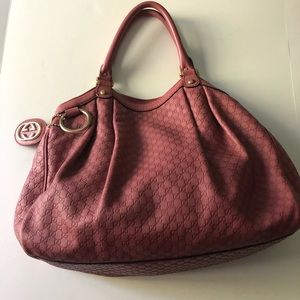 Gucci embossed Sukey